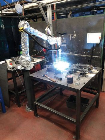 SMB Pressings automates with six-axis robot