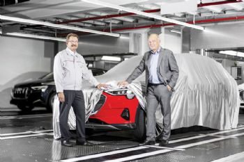 Assembly of the all-electric Audi SUV begins