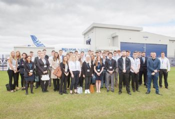 Airbus Broughton welcomes apprentices