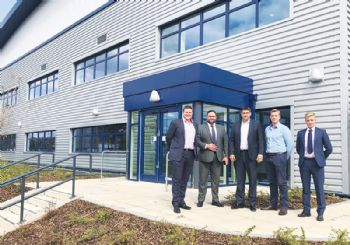 Fork-lift manufacturer acquires new facility