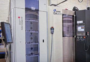 High-speed five-axis machining at Norjon