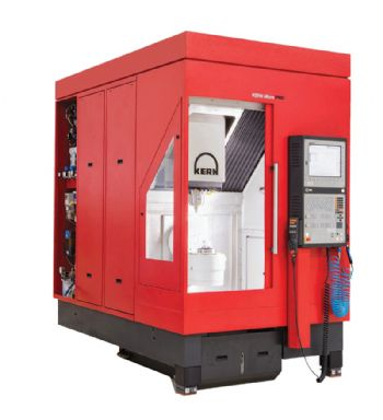 Compact five-axis  machining centre
