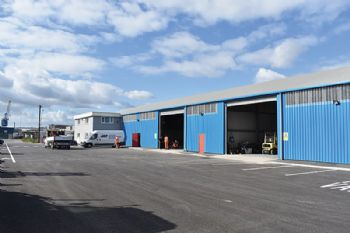 New engineering workshop at Port of Cardiff
