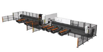 Pipe- and tube-cutting machine features new laser