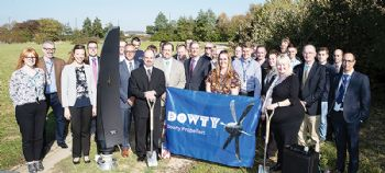 Dowty Propellers breaks ground in Gloucester
