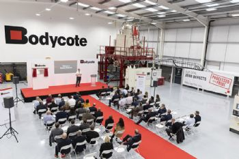 Bodycote opens new plant