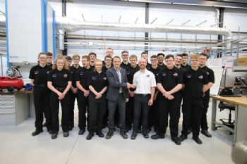 AMRC welcomes Close Brothers apprentices