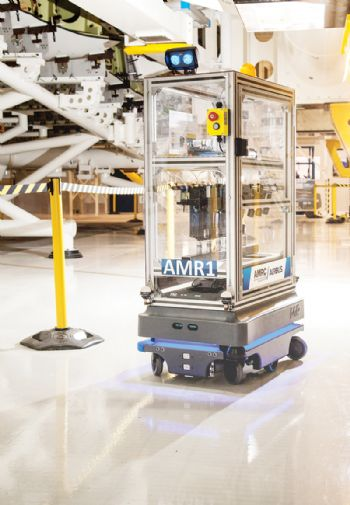 Robotic vehicles undergo trials at Airbus
