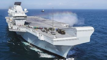 HMS Queen Elizabeth contract for Rosyth