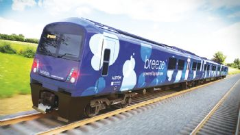 UK hydrogen train design 'a Breeze'