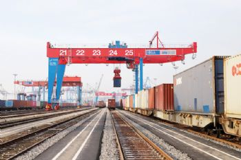 Port of Hamburg rail terminal expansion completed