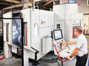 Third machining cell purchased to fulfil contract