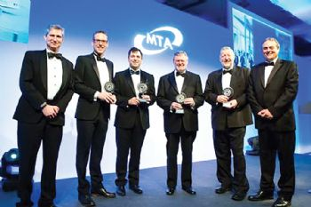 Renishaw founders honoured at MTA Centenary Dinner