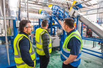 Plastic recycling plant opens in Haydock