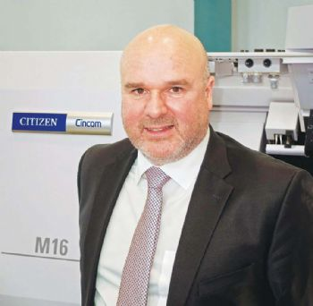 Citizen Machinery appoints European sales manager