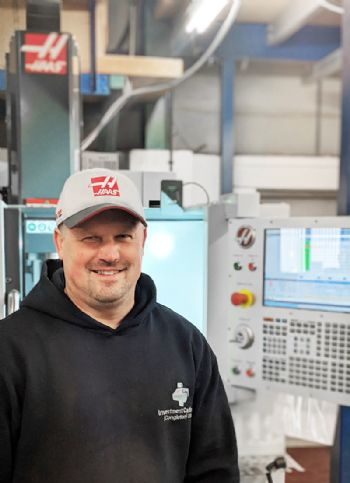 Castings company optimises space with Haas