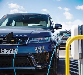 JLR installs 166 electric outlets at Gaydon