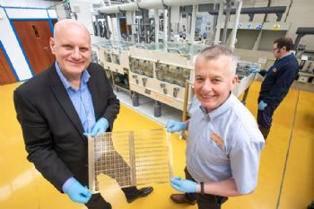 £500,000 investment etched in metal