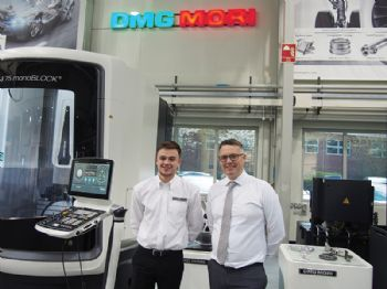 DMG Mori apprentice to represent the UK