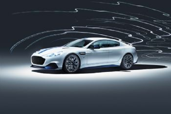 Aston Martin unveils first all-electric model