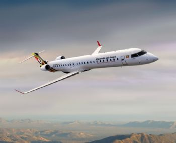 Bombardier delivers CRJ900 to Uganda Airline