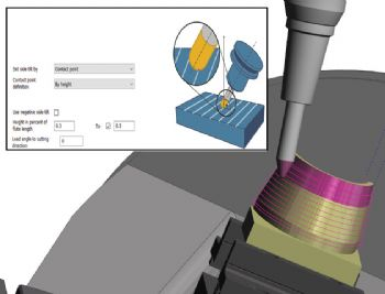 Latest release of Edgecam supports barrel cutters