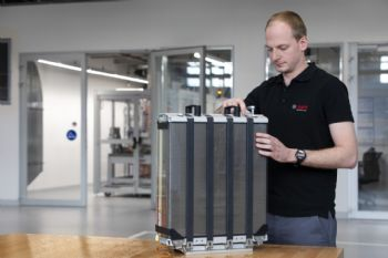 Bosch forms fuel-cell stack alliance