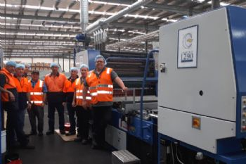 Crabtree recommissions machine down under