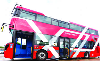 Hydrogen buses to be launched in London