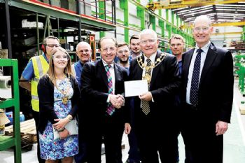 Manufacturing plant showcases innovation