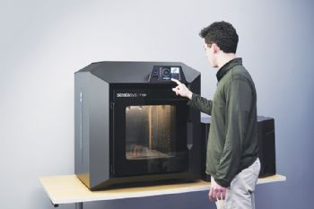 New 3-D printer offers fast build times