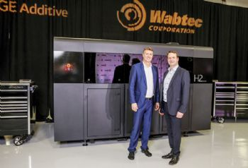 Wabtec invests in additive manufacturing