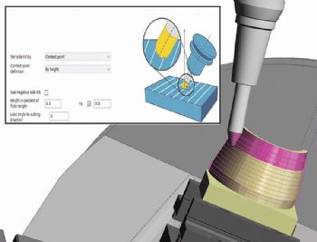 Five-axis strategies in latest CAM sofware