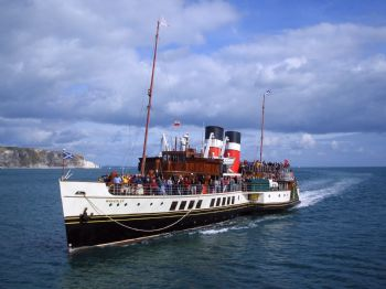 Campaign to save last sea-going paddle steamer