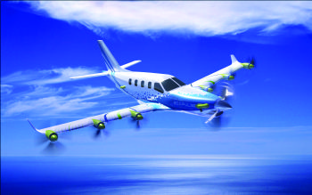 Hybrid propulsion aircraft demonstrator
