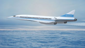 Boom Supersonic extends partnership with Statasys