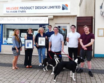 South Devon firm scoops customer service award