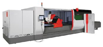 12kW fibre laser cutting machine from Bystronic