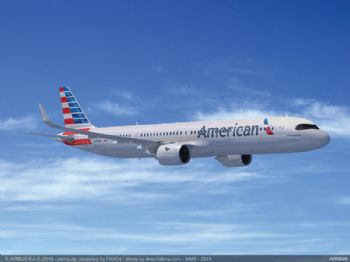 American Airlines order 50 Airbus A321XLRs