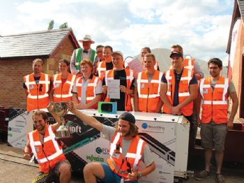 Aachen University wins Railway Challenge