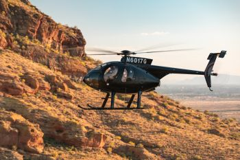Sales agent takes delivery of new MD 530F