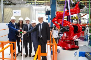 Work begins on new Fiat 500 EV assembly line