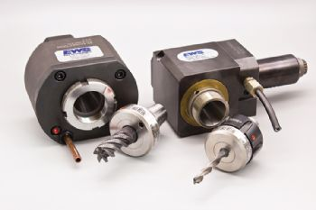 Hydraulic chuck ranged expanded