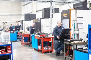 Aerospace firm invests in new machines