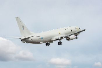 First P-8A Poseidon destined for the UK
