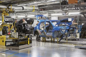 UK car production falls 20% in first six months