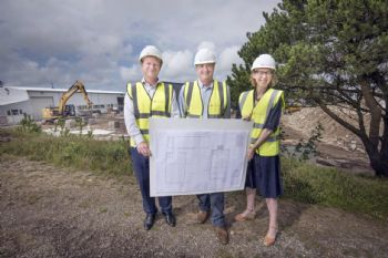 Kensa begins construction of new Truro factory