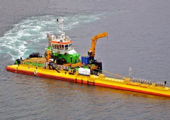 Scottish funding supports tidal- energy project