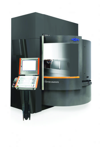 High-speed VMCs for  machining graphite
