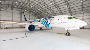 First Airbus A220  delivery for EgyptAir